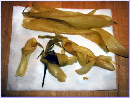 Corn Husk Toy Shape